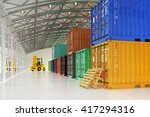 warehouse logistics  shipment ... | Shutterstock . vector #417294316