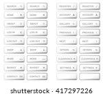 vector.isolated white bar web... | Shutterstock .eps vector #417297226