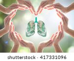 Healthy Lung Shape World Desig...