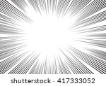 background of radial lines for... | Shutterstock .eps vector #417333052