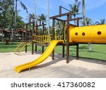 Colorful Playground At A...