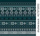 ethnic boho seamless pattern.... | Shutterstock .eps vector #417372052