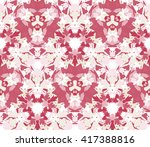 seamless pattern composed of... | Shutterstock .eps vector #417388816