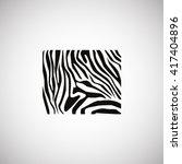 zebra icon. zebra icon vector....