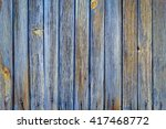 vertical wood plank fence close ... | Shutterstock . vector #417468772