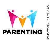 parenting logo template