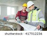 foreman builder and... | Shutterstock . vector #417512236