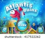 Atlantis Ruins With Fish Rocket ...