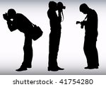 image of young photographers... | Shutterstock . vector #41754280