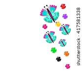 butterfly | Shutterstock . vector #417581338
