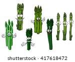 wholesome cartoon bundles of... | Shutterstock .eps vector #417618472