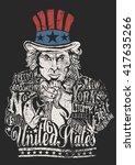 Uncle Sam Artwork For Clothing...