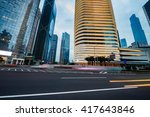 the road in the city of... | Shutterstock . vector #417643846