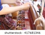thai weaving | Shutterstock . vector #417681346