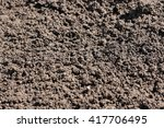 dig and loosen the soil surface ... | Shutterstock . vector #417706495
