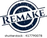 remake rubber stamp with grunge ...   Shutterstock .eps vector #417790078