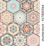 Colorful Tile. Seamless Tile...