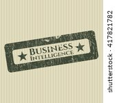 business intelligence grunge...   Shutterstock .eps vector #417821782