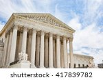 exterior of the united states... | Shutterstock . vector #417839782