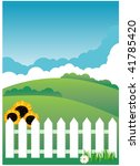 fence | Shutterstock . vector #41785420