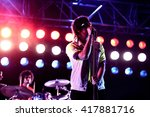 barcelona   may 30  the strokes ... | Shutterstock . vector #417881716