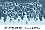 digital disruption concept... | Shutterstock . vector #417915982