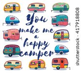 you make me a happy camper card....