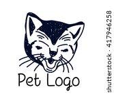 pet logo template | Shutterstock .eps vector #417946258