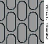 seamless ellipse pattern.... | Shutterstock .eps vector #417956266