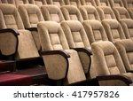 empty comfortable seats in...   Shutterstock . vector #417957826