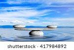 3d Rendering Of Balancing Zen...