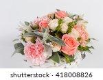 bouquet of flowers  | Shutterstock . vector #418008826