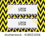 safety board. | Shutterstock .eps vector #418021036