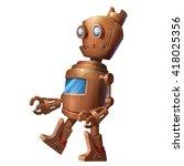 Iron Robot  Tin Man. Character...