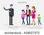 vector detailed character... | Shutterstock .eps vector #418027372