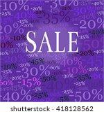 sale   elegant  promotional... | Shutterstock . vector #418128562
