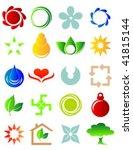 vector illustration of a set of ...   Shutterstock .eps vector #41815144