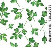 watercolor seamless pattern... | Shutterstock . vector #418160386