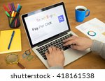 searching pay per click on... | Shutterstock . vector #418161538