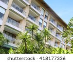modern apartments | Shutterstock . vector #418177336