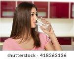 water. | Shutterstock . vector #418263136