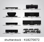 The Type Of Freight Cars. The...