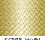 steel metal plate background | Shutterstock . vector #418301836