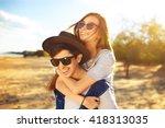 Young Beautiful Loving Couple...