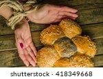 buns varieties   Shutterstock . vector #418349668