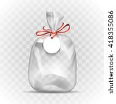 gift package template | Shutterstock .eps vector #418355086