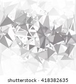 gray white break background ... | Shutterstock .eps vector #418382635