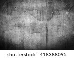 weathered steel texture and... | Shutterstock . vector #418388095