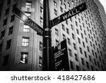 Wall Street  New York  United...