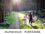we are going to pick mushrooms | Shutterstock . vector #418433686